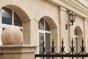 Облицовка фасадов травертином,  гранитом,  мрамором УютСтройКараганда - foto 3
