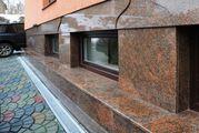 Облицовка фасадов травертином,  гранитом,  мрамором УютСтройКараганда - foto 4